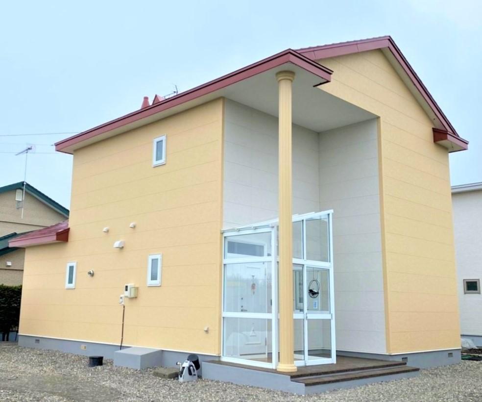 湧別町・O様|屋根塗装・外壁張替工事