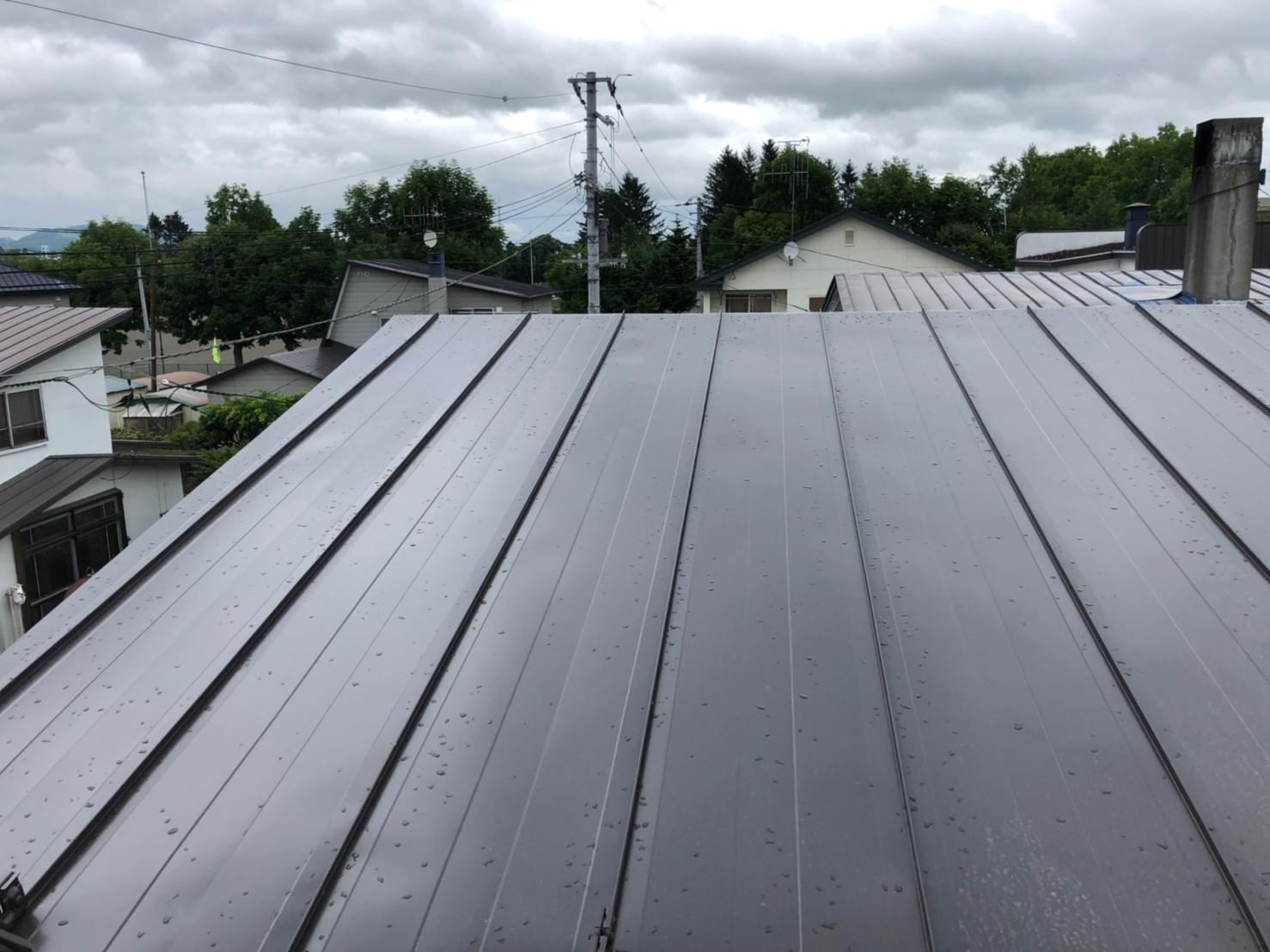 施工後 2階屋根部分