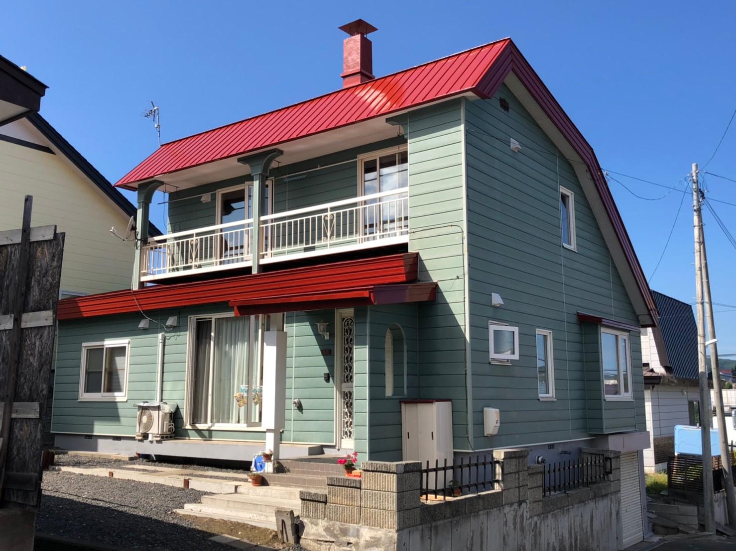 北見市・Y様|屋根塗装工事