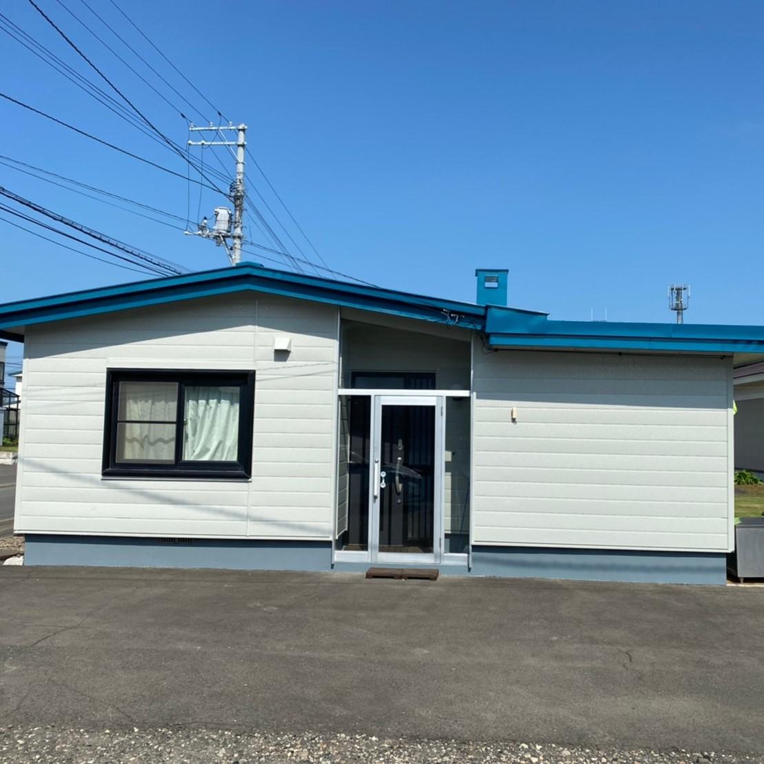 北見市・O様|屋根一部張替・外壁塗装工事